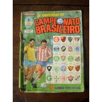 Álbum De Figurinhas Do Campeonato Brasileiro 1989 Completo