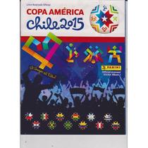 Albuns De Figurinhas - Copa América 2015 / Vazio