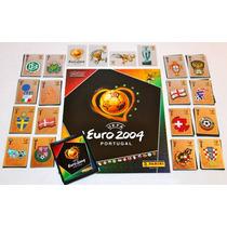 Euro 2004 - Album Completo - 334 Figurinhas + 1 Envelope