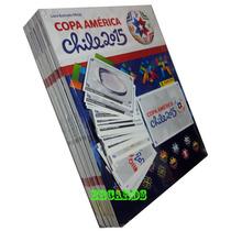 Álbum Capa Dura Copa América 2015 Completo +348 Figurinhas