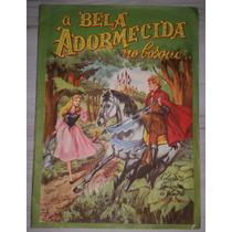 Raro Álbum A Bela Adormecida No Bosque Completo Vecchi 1960