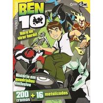 Album Ben 10, Completo C/ Figurinhas Soltas P/ Colar.