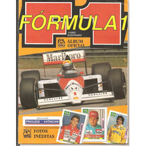 Álbum De Figurinhas Fórmula 1 - 1989 Incompleto