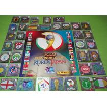 Album Copa 2002 + 576 Figurinhas Colar Completo + Brinde