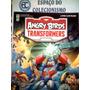 Álbum Figurinhas Angry Birds Transformers Completo P/ Colar