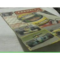 Album De Figurinhas Fórmula 1 - 1991 - Faltam 18 - Multi Ed.
