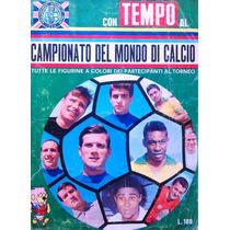 Álbum De Figurinhas Digitalizado Copa Do Mundo 1966 Tempo