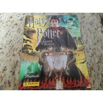 Álbum Figurinhas Harry Potter Cálice De Fogo - Completo
