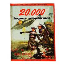 Álbum 20.000 Léguas Submarinas - Completo - 1956