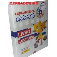 Box Premium Copa América 2015 + Capa Dura 348 Cromos P/colar