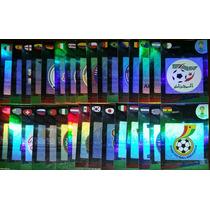 32 Cards Escudos/logos Adrenalyn Xl Copa 2014 Panini