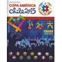 Album Copa America Chile/2015 Completo C/figurinhas P/colar