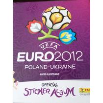 Album Eurocopa 2012 Com 32 Figurinhas Coladas Panini