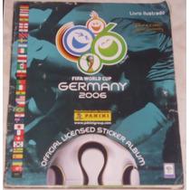 Álbum Copa Do Mundo De 2006 - Panini - Completo