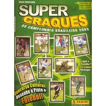 Álbum De Figurinhas Digitalizado Super Craques 2003 Panini