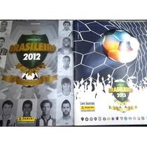 2 Albuns Figurinhas Campeonato Brasileiro 2012 E 2013 Poucas