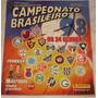 Álbum Campeonato Brasileiro 98 - Panini - Completo
