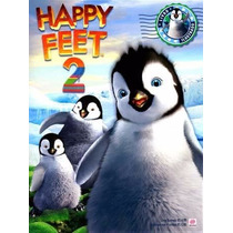 Album Happy Feet 2, Completo C/ Figurinhas Soltas P/ Colar.