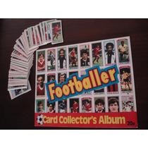Album Cards Campeonato Ingles 1981 Vazio + 98 Cards P/ Colar
