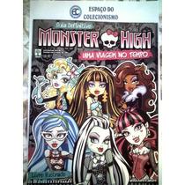 Álbum + Lote 100 Figurinhas Diferentes Monster High 2015