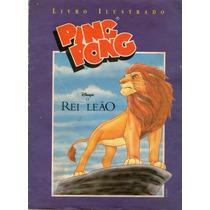 Álbum Ping Pong Rei Leão 1991 Completo