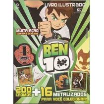 Ben 10 E Os Aliens - Album C/ 180 Figurinhas S/ Repetição
