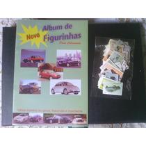 Um Álbum De Figurinhas De Carros Completo - Fi. Adesivas
