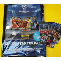 Cards Champions League 2013/14 Album 5 Envelopes Neymar Le