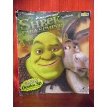 Album De Figurinhas - Shrek Para Sempre - Abril - Incompleto