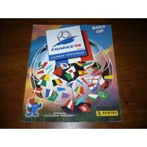 Album Figurinhas Copa Mundo France 98 Panini Completo + Iran