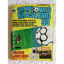 (sp) Álbum Campeonato Brasileiro 1993 - Faltam 9 Figurinhas