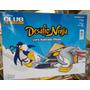 Album Desafio Ninja Club Penquim + Pacote C/ 5 Cartas