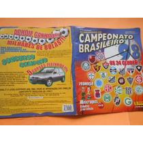 Álbum As Figurinhas Do Campeonato Brasileiro 1998 Incompleto
