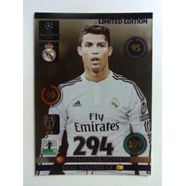 Cards Champions League 2014/15 Limited Edition Ronaldo Cr7