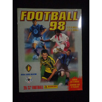 Album Football 1998 Belgique Panini Completo Colado