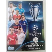 Álbum Champions League 2015/16 Completo Com Frete Grátis