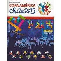 005/15 Album Completo Copa América Chile 2015 R$ 120,00