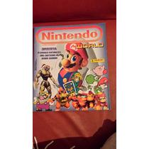 Album Nintendo World - Editora Panini - Com 21 Figurinhas