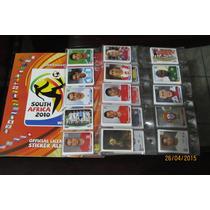 Álbum Copa Do Mundo 2010 Completo P/colar + Figurinhas Visa