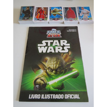 Star Wars Force Attax - Álbum Completo Com 194 Cards