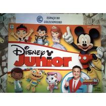 Álbum Disney Junior Jr 2016 Vazio + Lote Com 100 Figurinhas