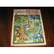 Album De Figurinhas Conheça O Brasil Ed.abril 1977 Completo