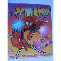 Álbum Chicle Bola Homem Aranha Spider Man Vazio Mais 36 Fig