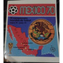Album Copa Do Mundo Mexico 1970 Panini Impreso Mexico 70