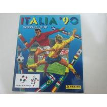 Album Copa Do Mundo Italia 1990 Panini Impreso