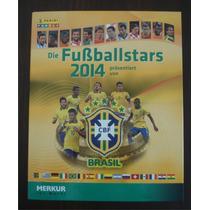 Panini Album Cards Copa Mundo 2014 Brasil Completo Raro
