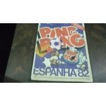 Album De Figurinhas Ping Pong Espanha 82 Completo