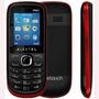 Celular Alcatel Ot316 Preto/vermelho Dual Chip, Fm Novo
