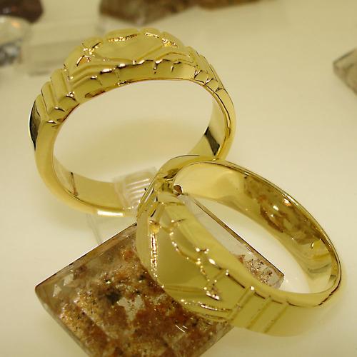 Aliança Claddagh Ab2 Ouro Banho 18k Ojoalheiro