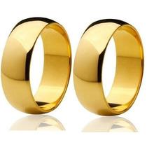 Promoção Alianças Ouro 18k 0,750 8 Gramas 6mm Jr Joalheiro